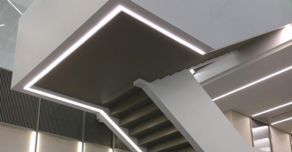 dal designed architectural lighting